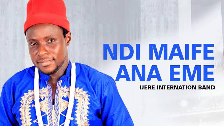 IJERE INTERNATIONAL BAND - NDI MAIFE ANA EME | Latest 2020 Nigerian Igbo Highlife Music