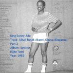 King Sunny Ade – Alhaji Rasak Akanni Okoya (Eleganza) (Latest Yoruba JuJu Song 2020)